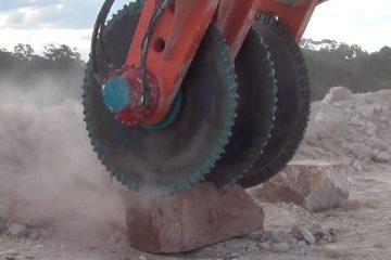 Rock Sawing